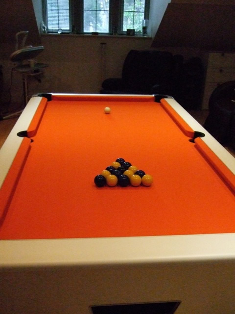 Supreme Winner Kit Form Pool Table Installation