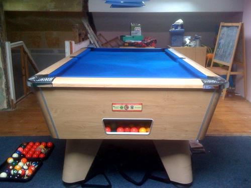 Supreme Winner Slate Bed Pool Table