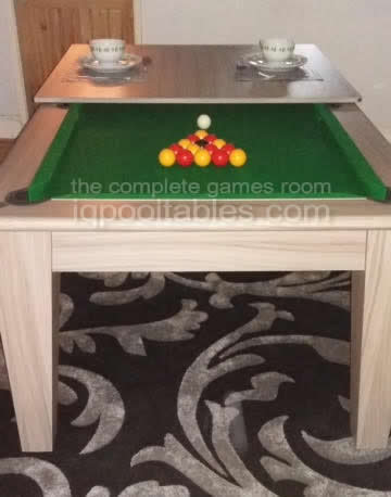 Gatley Classic Pool Dining Table in Driftwood