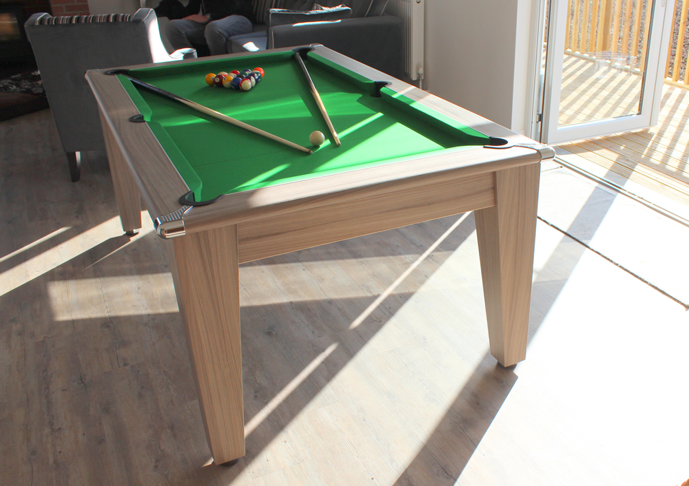 Installation of a Gatley Leisure 6ft Pool Dining Table