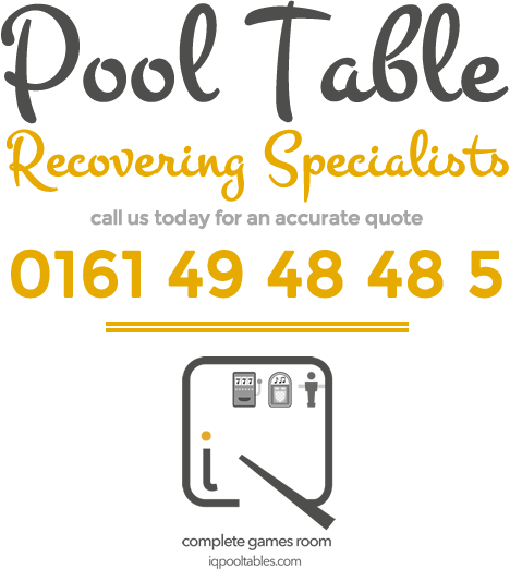 Pool Table Recovering Specialists