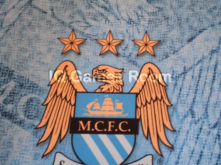 Manchester City FC Custom Design Pool Table Cloth