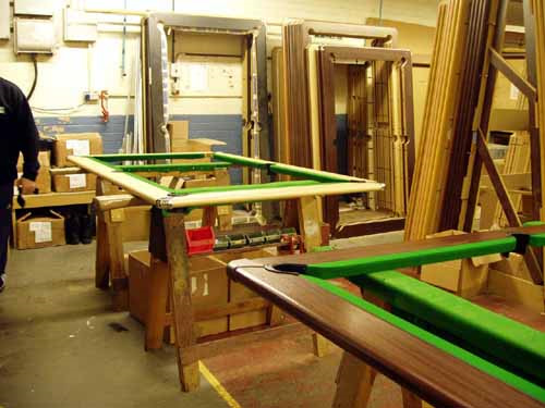 Pool table factory visit 12