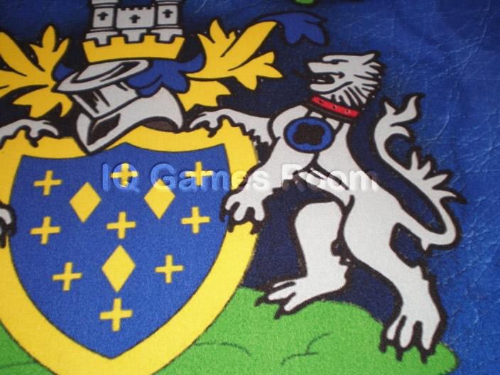 Stockport County FC Custom Design Pool Table Cloth