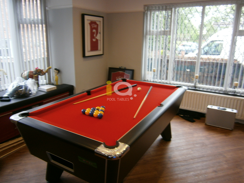 Recent Installation of Supreme Pool Tables in Black Pearl Pool Table