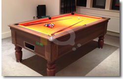 Walnut Prnce 7ft Pool Table