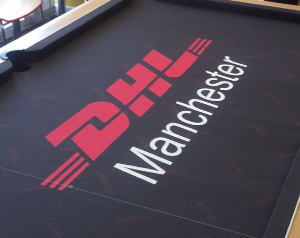 New DHL Branded Pool Table Cloth