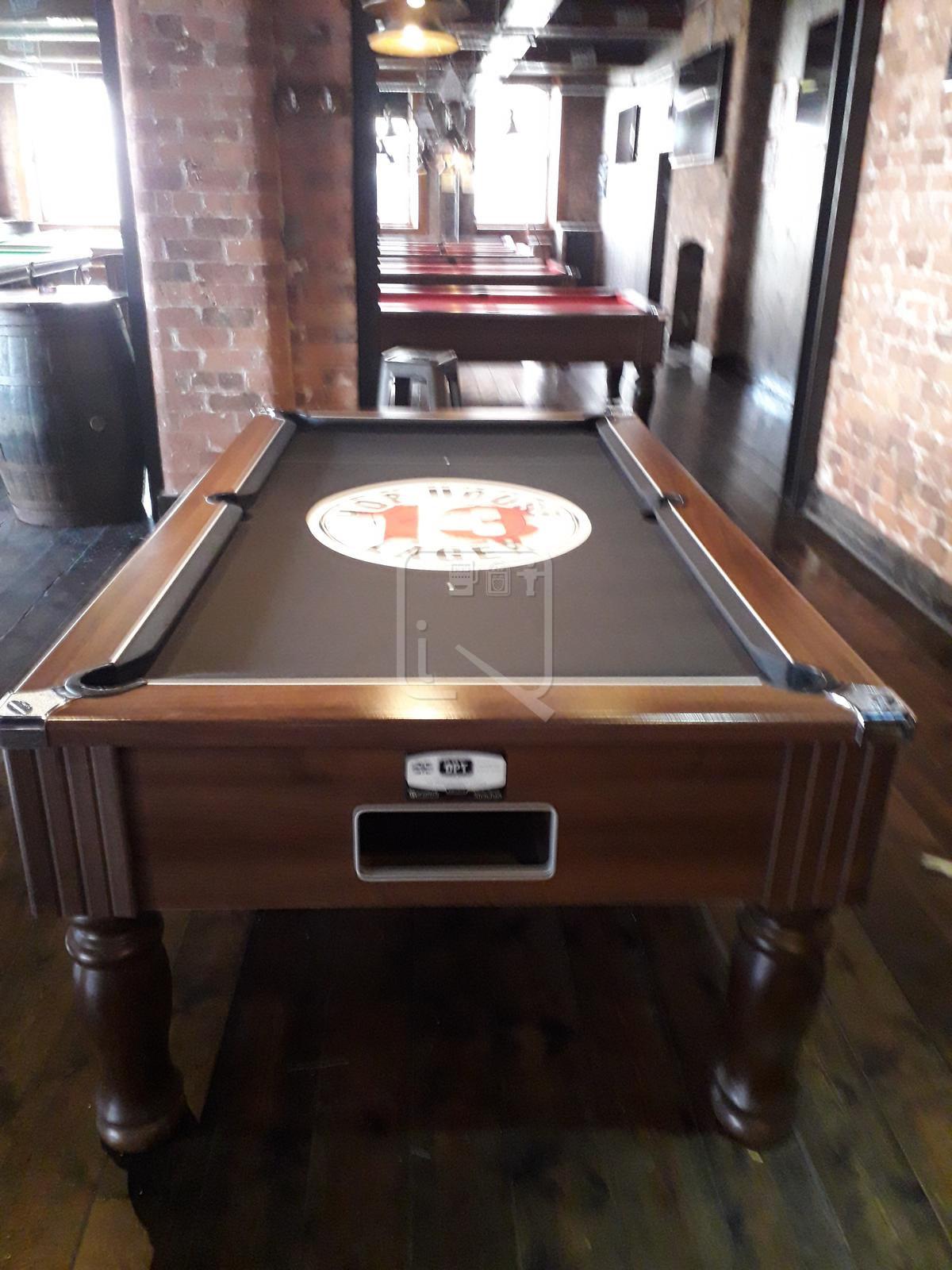 Hop House Liverpool Custom Design Pool Table Cloth