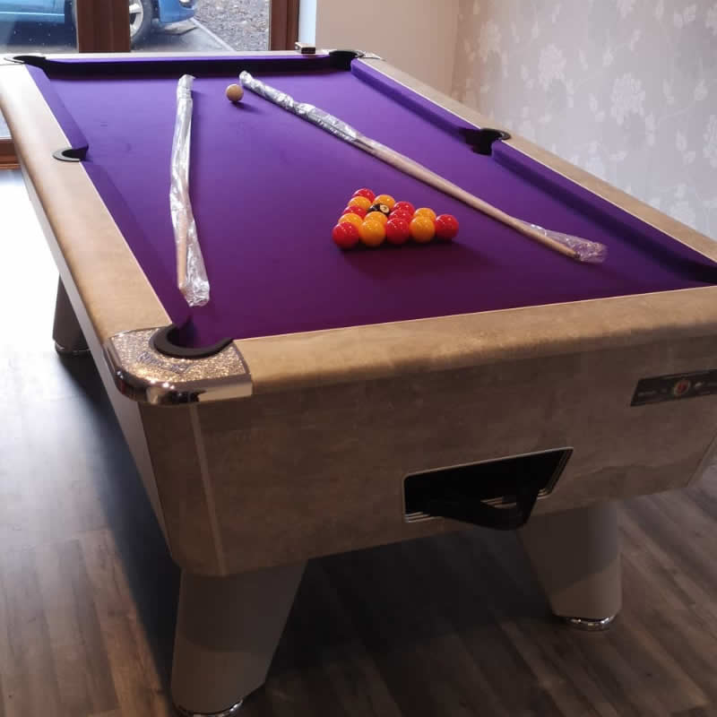 Supreme Winner 7ft Freeplay Pool Table Italian Grey Finish